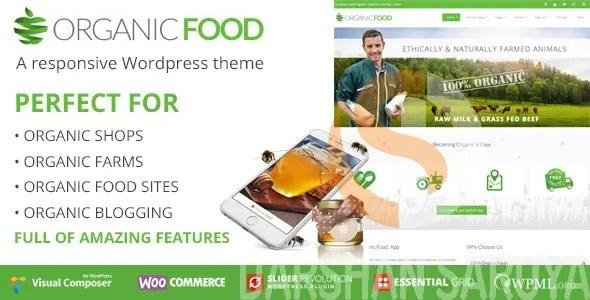 Organic Food Ecology & Environmental, Store & Bakery WooCommerce, Responsive WordPress Theme