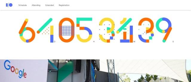 Google IO Event site