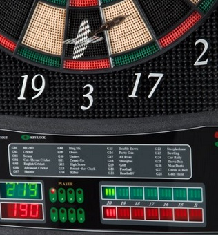 Ultrasport elektrisches Dartboard Test