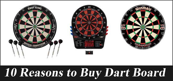 10 Reasons to Buy Dart Board