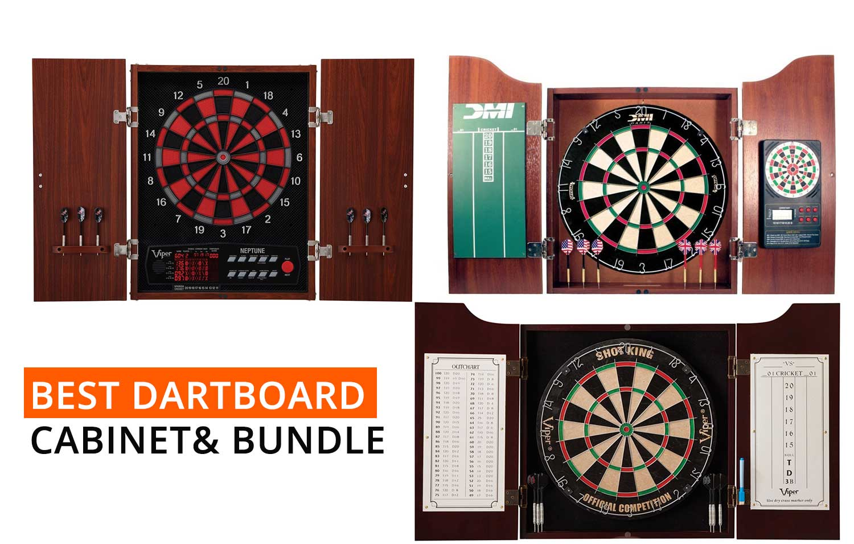 Top 3 Best Dartboard Cabinet U0026 Bundle 0f 2017   All About Darts U0026 Dartboards