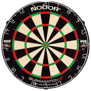 Nodor SupaMatch 3 Bristle Dartboard