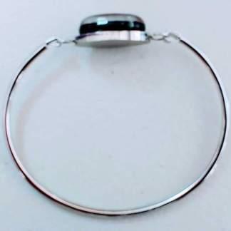 Glass and Metal Bracelets