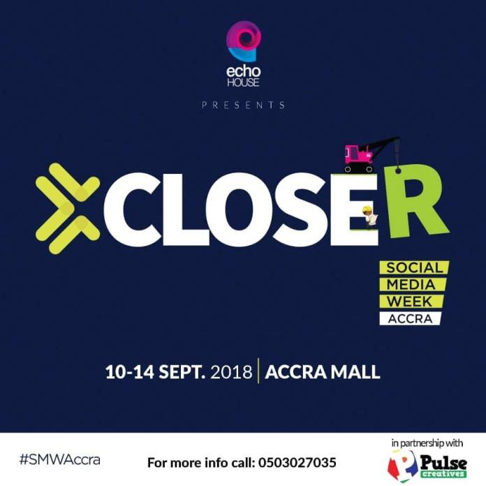 All the details on Social Media Week Accra 2018