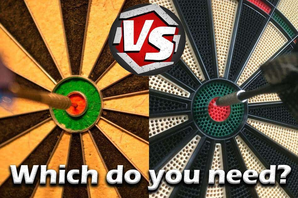 Steel Tip Darts Vs. Soft Tip Darts. What Is The Difference?