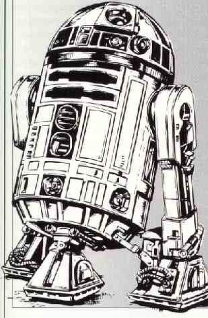 colro r2 d2 colouring page 3