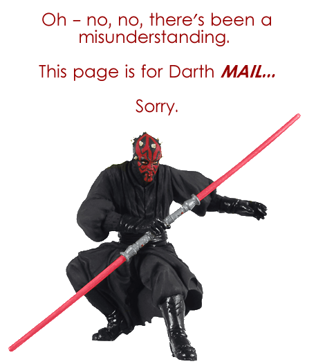 Darth Maul - Vader - Sith Lords - Contact The Star Wars Runners At The Death Valley summer run