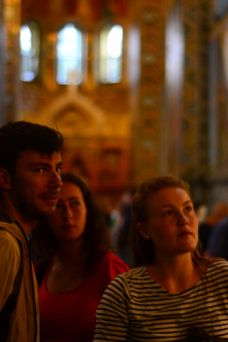 Me, Saul & Iona in the Church of the Saviour on the Spilled Blood