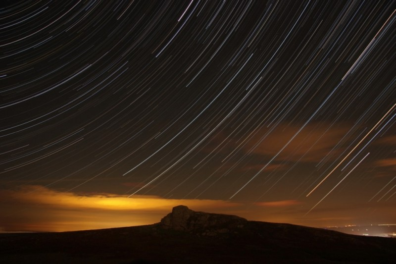 Photo of Star Trails and Haytor