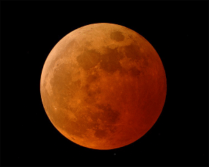 Fully Eclipsed Moon