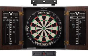 Viper Stadium Cabinet & Shot King SisalBristle Dartboard