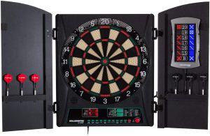 Bullshooter Cricket Maxx 1.0 Soft Tip Dartboard Cabinet Set