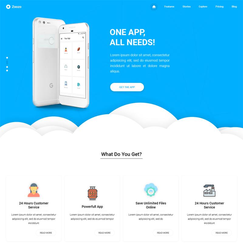 Cloud App – HTML Template