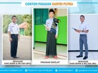 Contoh Pakaian Santri Putra TMI