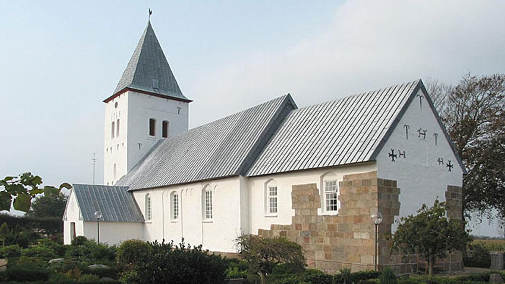 Gudstjeneste i Darum Kirke