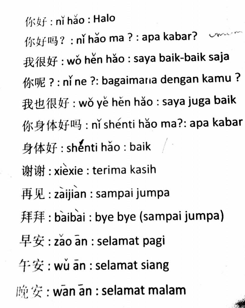 Terima Kasih Bahasa Mandarin : terima, kasih, bahasa, mandarin, Terima, Kasih, Dalam, Bahasa