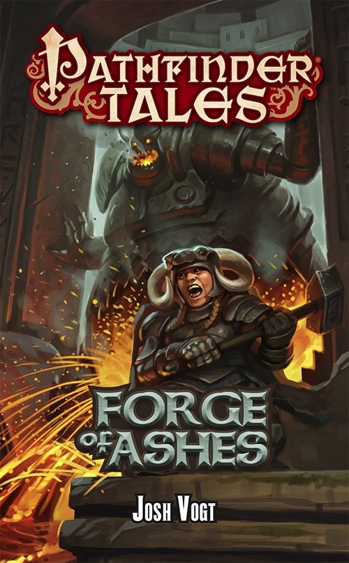 Interview with Josh Vogt, author of Forge of Ashes