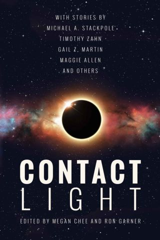 "Contact Light, with my story ""The Edge of the Abyss,"" available now"