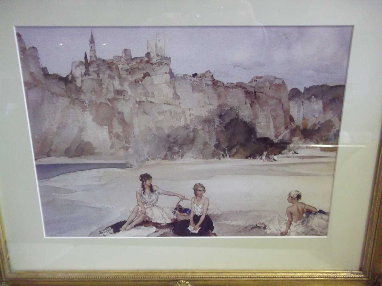 Russell Flint Print MW Darwin And Sons