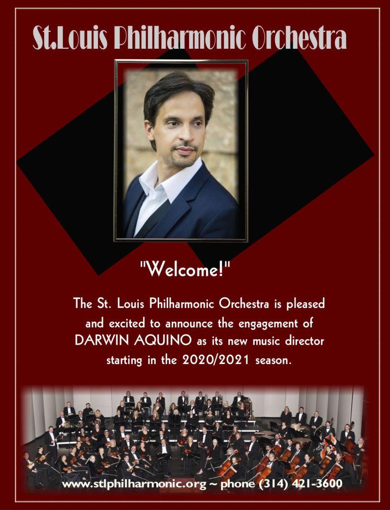 St. Louis Philharmonic Orchestra announcement
