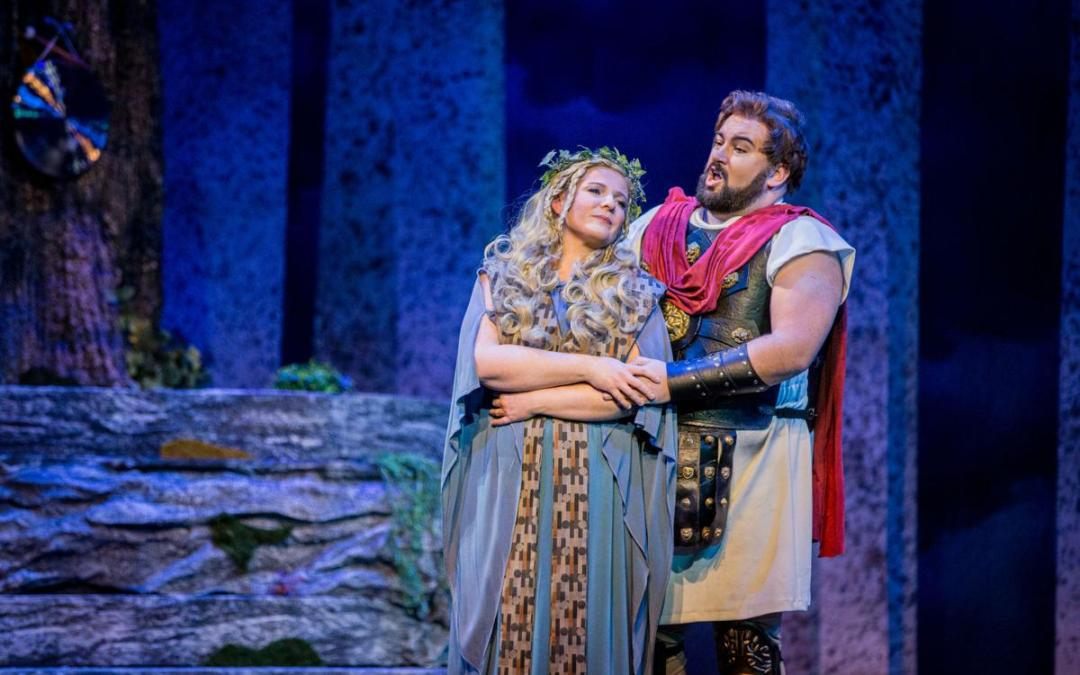 """Benedetta Orsi and Peter Scott Drackley in """"Norma"""""""