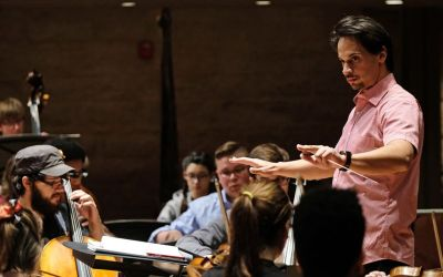 St. Louis Public Radio interview about Video Games concert featuring WashU & UMSL Symphony Orchestras