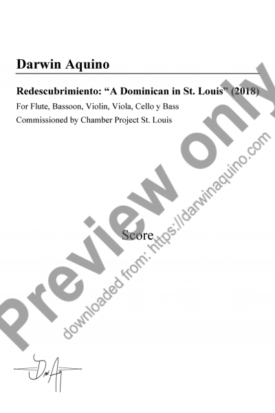 Redescubrimiento: A Dominican in St. Louis (2018)