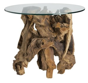 3- Driftwood table $676