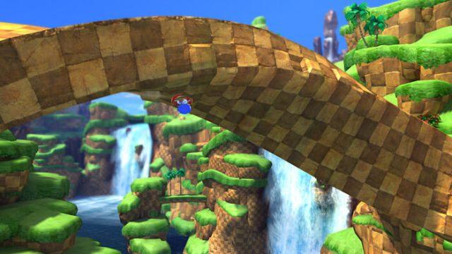 Sonic upside down