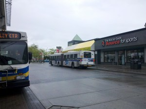 TransLink/Coast Mountain Bus Company D60LF at Surrey Central Station. This bus will serve on the future 96 B-Line.
