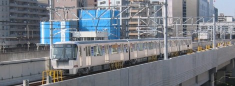 Yokohama Subway LIM train