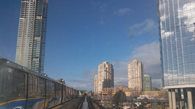 The C-Train didn't build higher-density, sustainable, transit-oriented city centres like SkyTrain built Metrotown in Burnaby.