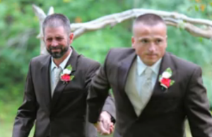 Father of The Bride, surprises his daughter's stepdad, asking him to walk THEIR daughter down the aisle.