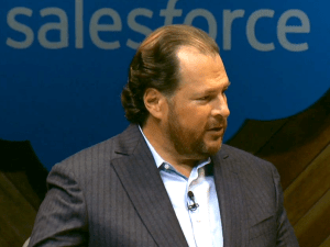 Salesforce.com founder, Marc Benioff, believes in stake holder value.