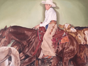 Genie Wollenberg, who taught me the incredible lesson that it's never too late to go for your dreams. At age of 59, she picked up from Bay Area and moved to a 400 acre ranch in Texas fulfilling her lifelong dream of becoming a rancher.