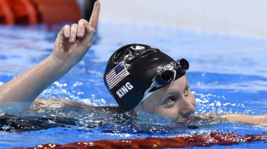 Gold medal swimmer, Lilly King, of the USA is winning gold and calling out drug cheats who she believes shouldn't be allowed to compete in The Olympics.