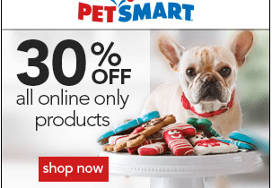 30% Off Online Products at PetsMart And Other Great Deals from Daryn.