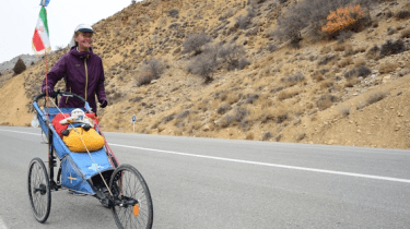 Runner Kristina Palten set out to run across Iran by herself to challenge prejudice about the country and the people.