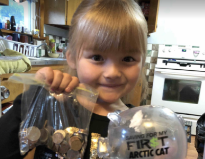 Kindergartener Empties Her Piggy Bank To Pay For Classmates' Milk