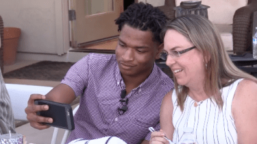 Grandma's accidental text leads to second helpings at Thanksgiving for one surprised teenager.