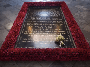 Duchess Meghan's bridal bouquet was placed at the grave of the Unknown Warrior at Westminster Abbey. The tradition began in 1923 with the late Queen Mother's bouquet from her wedding to Prince Albert.
