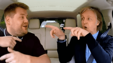 Paul McCartney joins Late Late Show host, James Corden, in Liverpool, England for Carpool Karaoke.