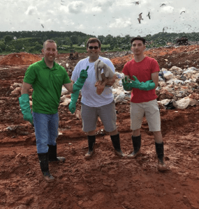 Publix workers in Birmingham, Alabama go above and beyond digging through a landfill of trash looking for a little girl's lost stuffed bunny.