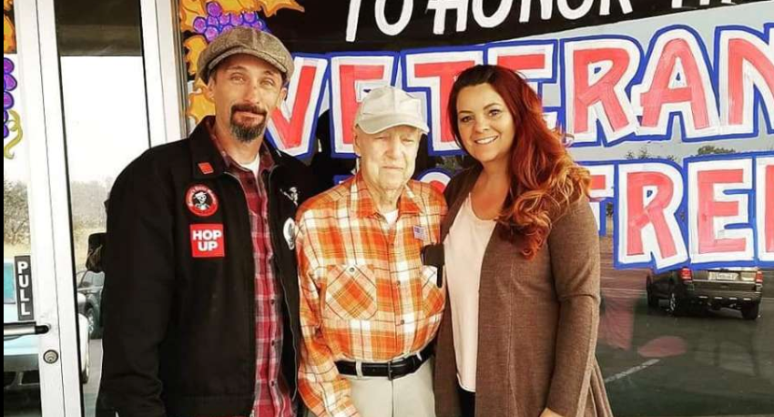 Couple Takes In 93 Year-Old WWII Veteran Who Escaped California Wildfire