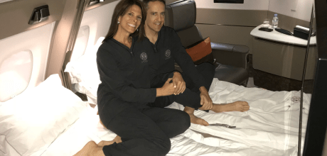 How I flew with MilesHusband and my husband's frequent flyer hobby on Singapore Airlines new first class suites.
