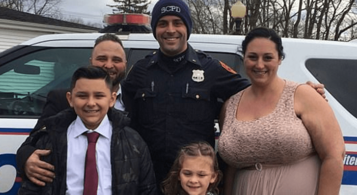 Cop Gives Bride And Groom Ride To Their Wedding After Crash Wrecks Their Car