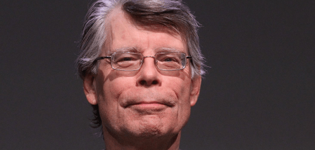 Superstar author Stephen King saves the book review section of his local Maine newspaper.