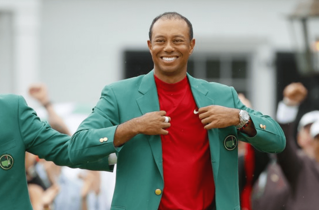 The Wonderful Place Dad Tiger Woods Wants To Wear His Latest Masters Green Jacket