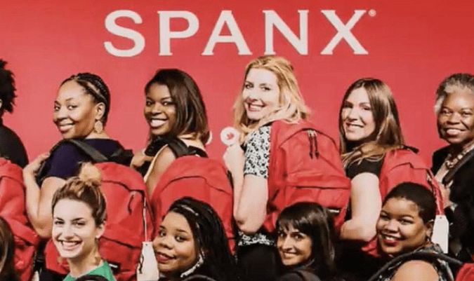 SPANX founder Sara Blakely has long talked about the luck she believes she received from the red backpack she carried when she was launching her company.