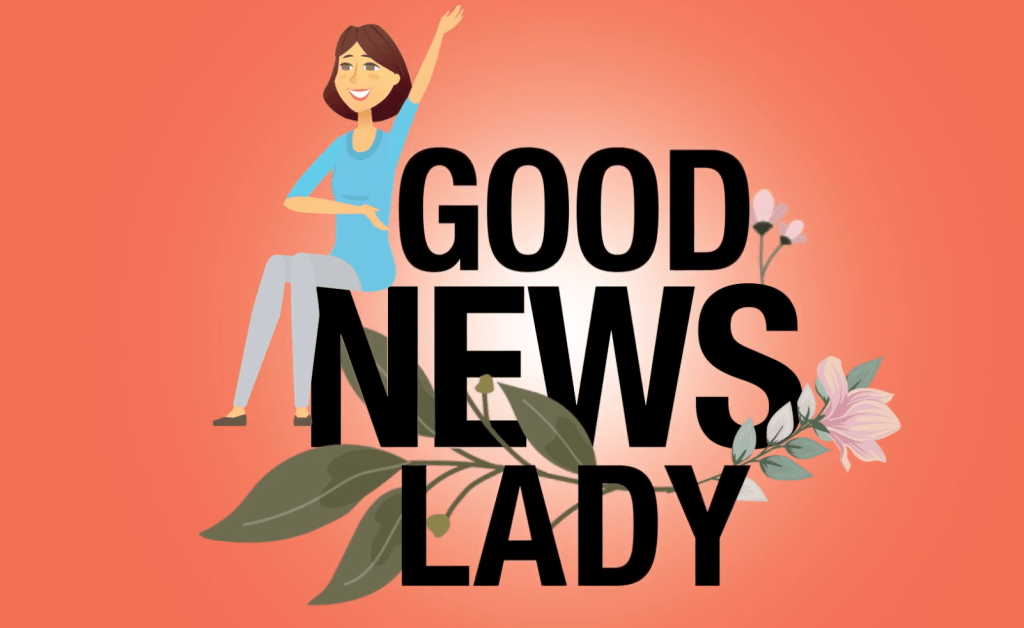 Daryn Kagan launches the Good News Lady Show on the new LoCoPlus streaming service